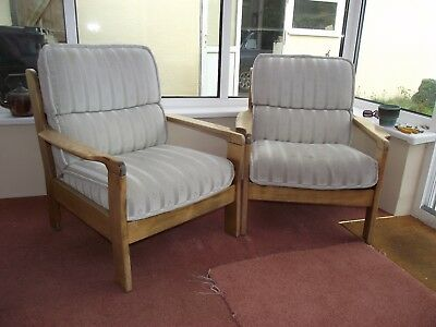 Two Single Armchairs