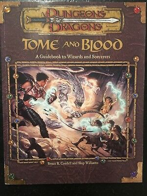 Dungeons & Dragons D&D 3E d20: Tome and Blood Guidebook Wizards