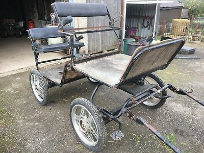 Horse Cart 4 Wheel Carriage by Hillam