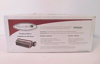 Pleasant Hearth Fireplace Blower Model GFB100 for Vent Free Gas Fireplace System