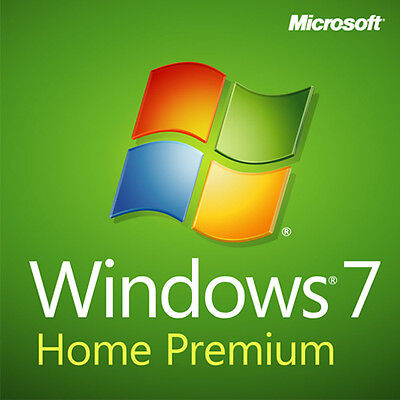 Original Windows 7 Home Premium 32 / 64Bit Sp1  Genuine License Key Scrap Pc