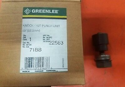 "Greenlee 22563 1/2"" Knockout Punch 71BB"