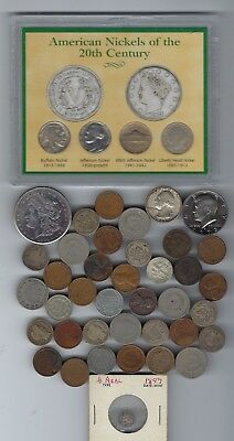 U.S. Type Coin Collection Various Dates & Denomination 90% Silver & More