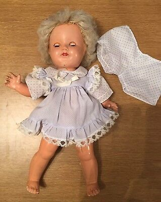 BND Composition doll In Need Of Repair Shirley Temple or Princess Margaret type
