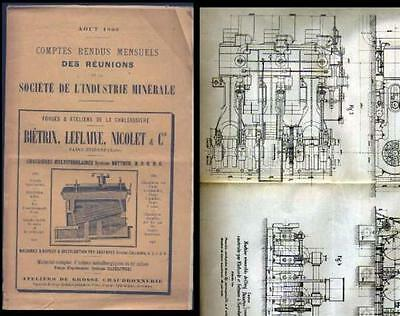 Bulletin Societe Industrie Minerale -  Aout 1900