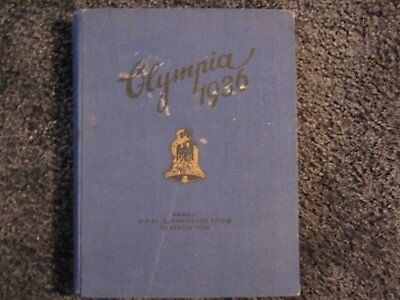 1936 German Olympic Games Cigarette Card Albums Complete Books 1 & 2 Olympia