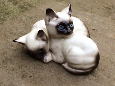 Royal Doulton Siamese Cats / Kittens Mould Number 1296