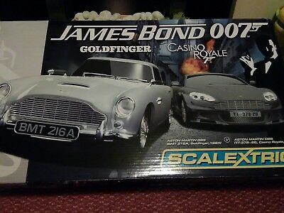 Scalextric James Bond Goldfinger Casino Royale MIB