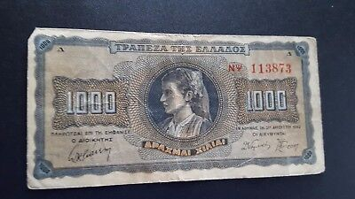 greece currency 1000 m936