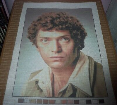 MARTIN SHAW THE PROFESSIONALS PRINTED CANVAS CROSS STITCH NEEDLEPOINT 35.5x26 cm