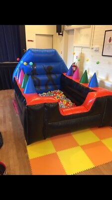Ball Pit With Air Jugglers Bouncy Castle Add On