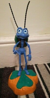 "Disney Pixar A Bugs Life Electronic Talking Flik Room Guard 13"" (Thinkway Toy)"