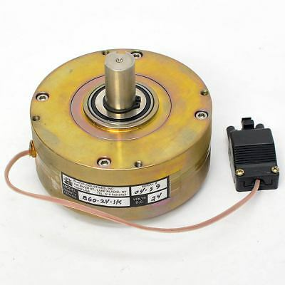 Placid Industries 24V DC Electric Electromagnetic Brake B60 1-60 lbs-in. 1800RPM