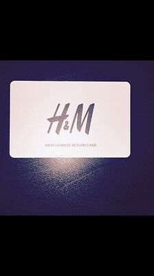 H & M gift card £78 Valid For 24 Months