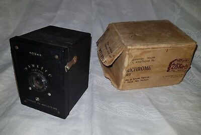 "ancien appareil photo de "" poche ""kodak "" Hawkeye""baby camera.  en bon etat"