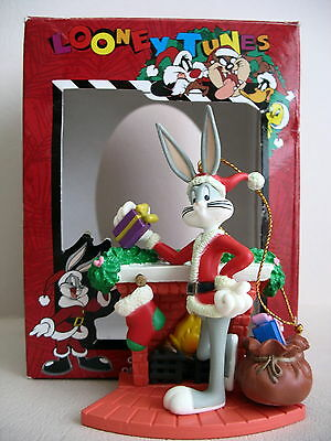 14 Vintage Looney Tunes Christmas Ornaments with Original Boxes