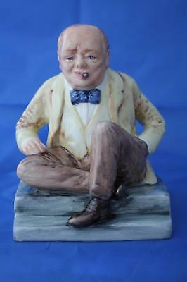 Bairstow Manor Collectables Winston Churchill Man Of The Century Prototype New