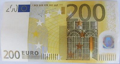 European Union / Germany (X) 2002 200 Euro € note - very nice authentic bill
