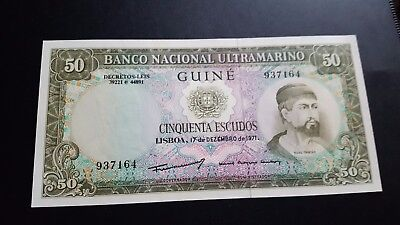 guinee currency 50 escudos m951