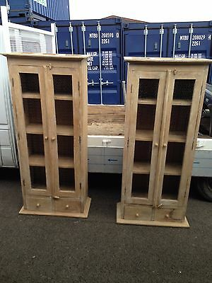 French antique style armoires dressers cupboards Matching Pair top quality