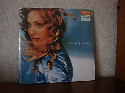 MADONNA~Ray of light UK Exclusive Limited to 1000 copies double bold blue vinyl