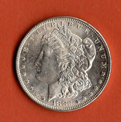 1882 Morgan Dollar Silver - San Francisco Mint - Unc