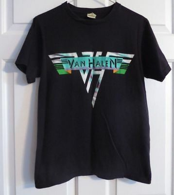 VAN HALEN Original CONCERT Tour T-SHIRT Reunited 2008 Medium 2 Sided Cities Roth