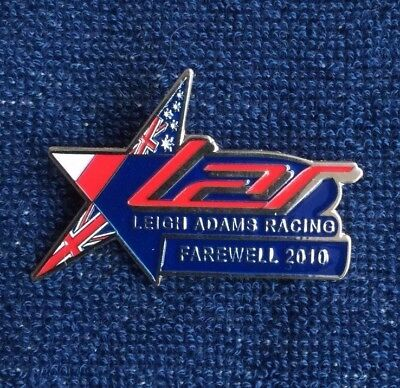 Speedway badge Leigh Adams Farewell 2010 Swindon Poole interest