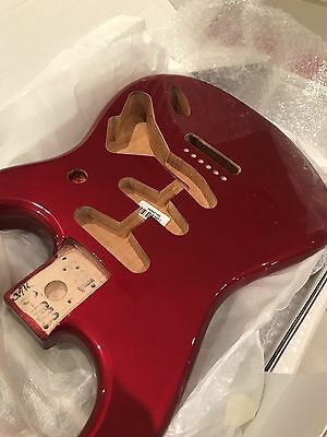 Fender Genuine Replacement Body Stratocaster Strat Candy Apple Red