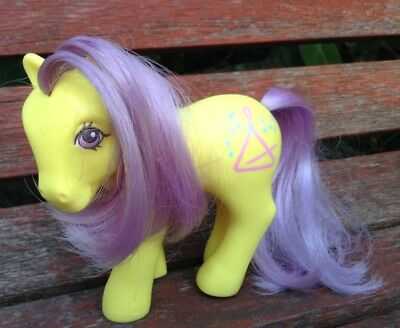 G1 My Little Pony Musictime Music Time Hasbro 1980's