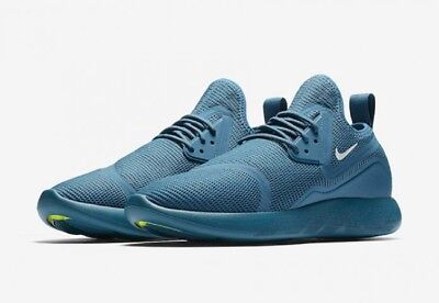 the latest f0b23 a0737 Nike NEW LunarCharge Breathe Industrial Blue Mens Running Shoe 942059 sz 10  $110