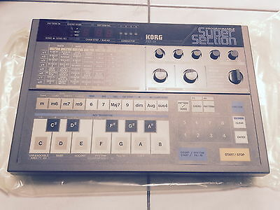 Korg PSS-50 Programmable SuperSection groovebox  VINTAGE NEW ( old stock)