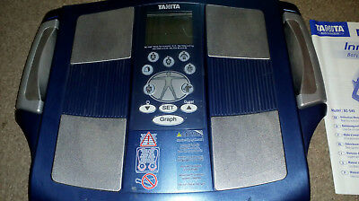 tanita inner scan body composition monitor used