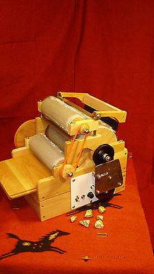 "S C P, GOLD SERIE  ""Standard Electric Triple, Drum Carder "" 90/120/120tpi"