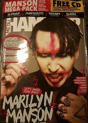 Metal Hammer Magazine November   2017 issue 302 with Free Gifts