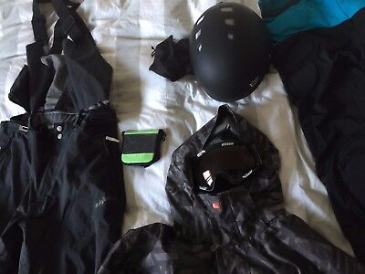Quiksilver Snowboarding Jacket, Pants, Visor, Helmet and more - HUGE LOT XL SNOW