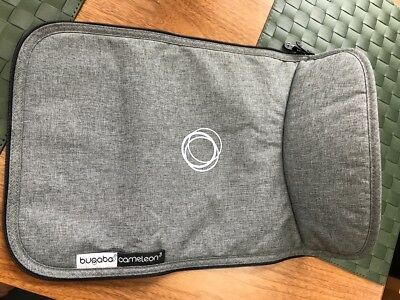 Bugaboo Grey Melange apron only/ Cameleon 3 - fits all Cams