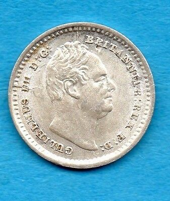 1834 Threehalfpence Silver Coin. William Iv.  High Grade.