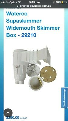 Waterco  In Ground Pool Skimmer Very Cheap Summer Not Far Away