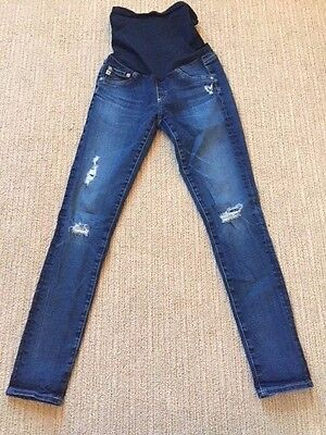 Ag Adriano Goldschmeid Maternity Jeans Dark Wash Size 26R