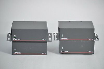 Lot (4x) Extron CTR 8 Eight Input Contact Closure to RS-232 Converter Modules