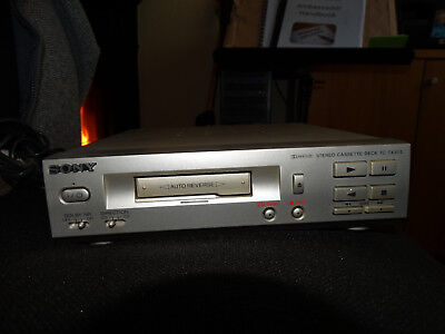 Sony Tape Deck TC-TX373 Silver Cassette Player