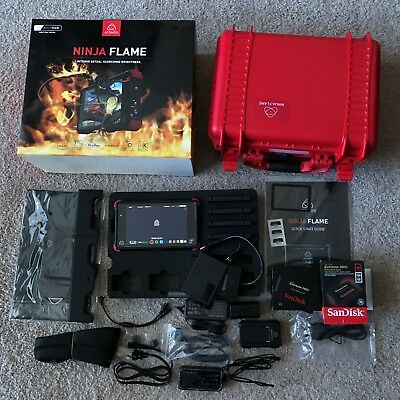 "Atomos Ninja Flame 7"" 4K HDMI Recording Monitor with 480GB Sandisk SSD & Bundle"