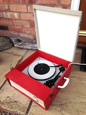 Vintage 1960's Fidelity Record Player, fully serviced and fully working.