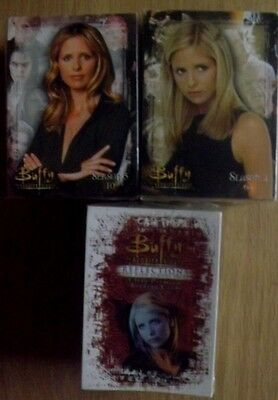 Buffy The Vampire Slayer x 3 base sets trading cards