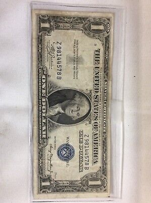 1935-A $1 US Silver Certificate Error Note Collectible