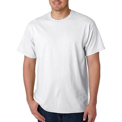 150 white mens blank tshirts sizes s, m, l, xl. 2xl
