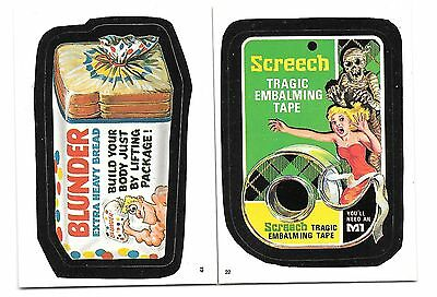 Wacky Packages sticker lot, including unopened package