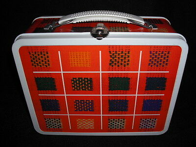 Unused Near Mint NOS Vintage 1972 Weave Lunch Box - No Thermos made , Ohio Art
