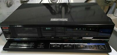 Beautiful Vintage Aiwa AD-S40 3 Head Stereo Cassette Deck Made in Japan Japanese